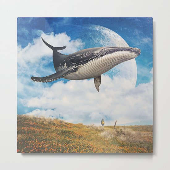 Field Of The Giant Metal Print