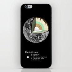 Earth Cream iPhone Skin