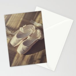 Ballet dance shoes Stationery Cards