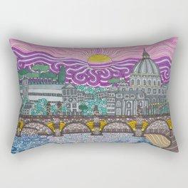 roma caput mundi Rectangular Pillow