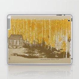 House in an Aspen Clearing Laptop & iPad Skin