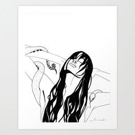 La Mojada Art Print