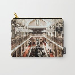 Industrial Urban Architectural Design Vintage Mall Art Photo Carry-All Pouch