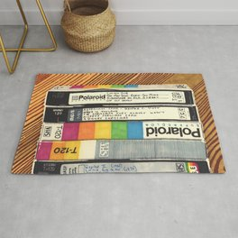 VHS & Wooden Wall Rug