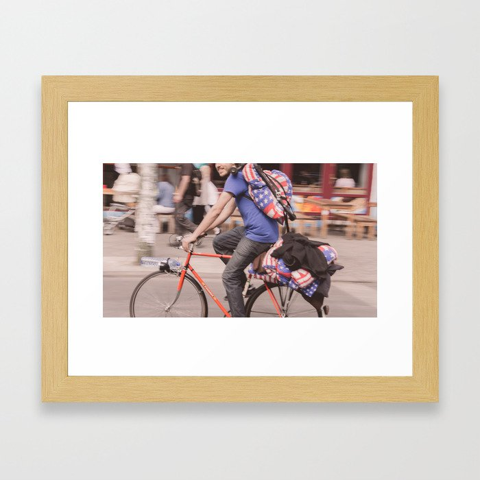 America, F*** Yeah! Framed Art Print
