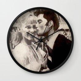 Grease Lightnin' Wall Clock