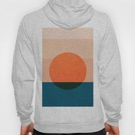 Abstraction_Sunset_Ocean Hoody
