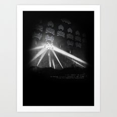 World Invasion Art Print