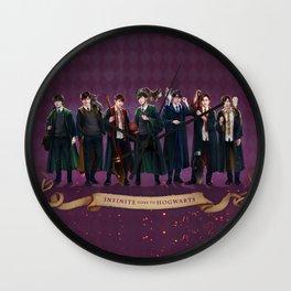 Infinite goes to Hogwarts Wall Clock