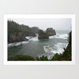Far NorthWest - Cape Flattery, Olympic Peninsula, Washington State Art Print
