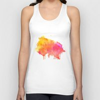 splash Tank Tops featuring Splash #society6 #buyart #decor by 83 Oranges™