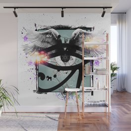 All Seeing Eye Wall Mural