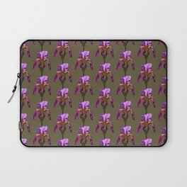iris variations: khaki Laptop Sleeve