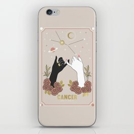 Cancer Zodiac Series iPhone Skin