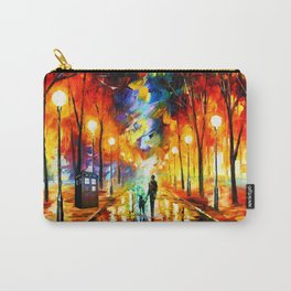 Tardis Art And The Light Street Carry-All Pouch