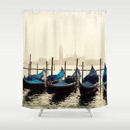 Gondolas in Color Shower Curtain