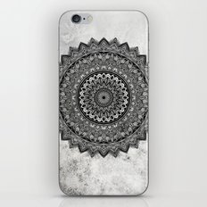 Charcoal Mandala iPhone Skin