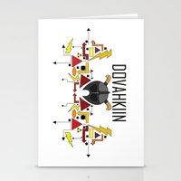 skyrim Stationery Cards featuring Skyrim: The Dovahkiin - RED (Skyrim) by E_Nicholson