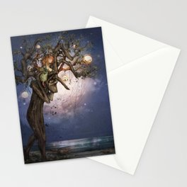 On the river bank Stationery Cards