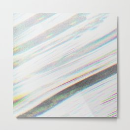 White Noise Metal Print