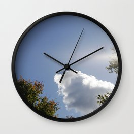 Orphan Cloud Wall Clock