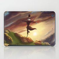 studio ghibli iPad Cases featuring Studio Ghibli - Howl's Moving Castle by BBANDITT