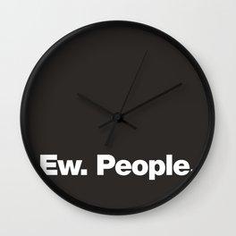 Ew. People Wall Clock