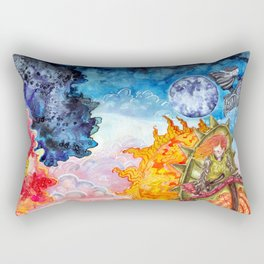 The tale of the sun and moon Rectangular Pillow