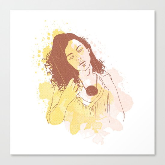 My Passion Canvas Print