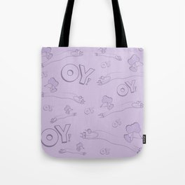 Oy With The Poodles!! Tote Bag
