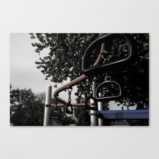 Old School Yard #3 Canvas Print