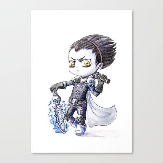Death Knight Canvas Print