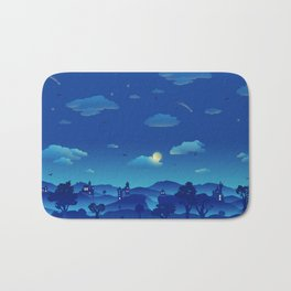 Fairytale Dreamscape Bath Mat