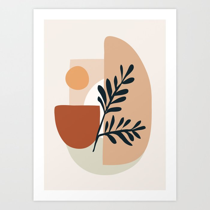 Geometric Shapes Art Print