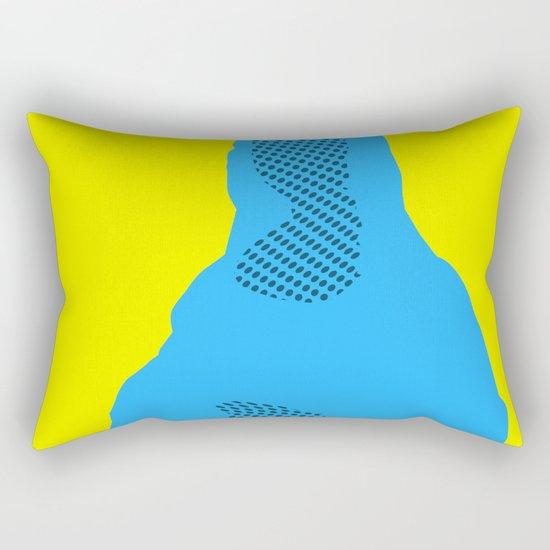 Mona, nu mach aber mal ein Punkt · 3 Rectangular Pillow