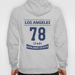 Los Angeles 78 Golden State Hoody