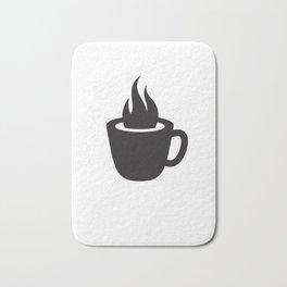 Hot Coffee Bath Mat