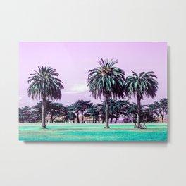 Three palm trees. Metal Print
