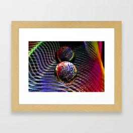 Pixelated Framed Art Print