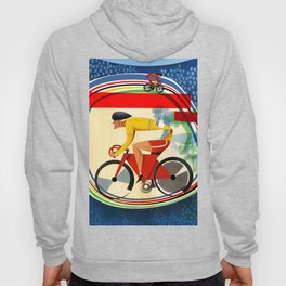 Track Cycling Championship Poster Cycle Bike Hoody