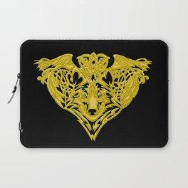 Wolf Raven Laptop Sleeve