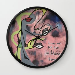 The Humanity Wall Clock