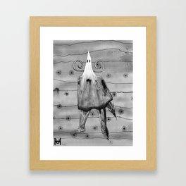 Fhost Framed Art Print