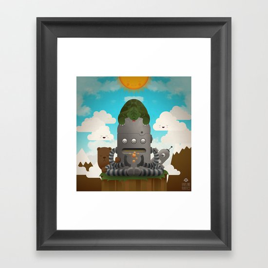 Shhhhh Framed Art Print