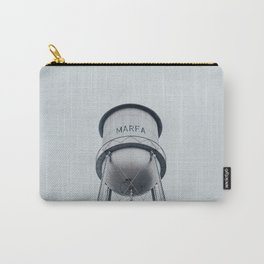 Water Tower in Marfa Texas Carry-All Pouch