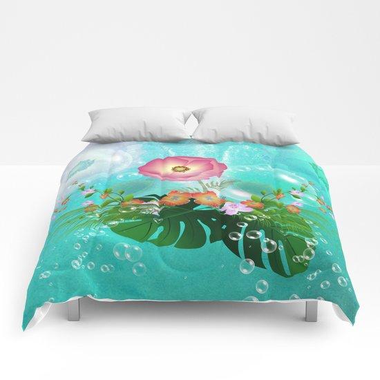 Floral design Comforters