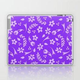 Macy - purple Laptop & iPad Skin