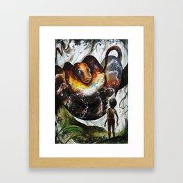 Trust In Me Framed Art Print