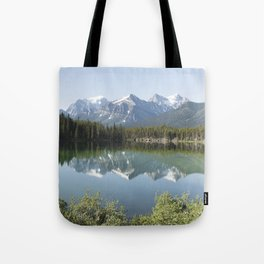 Reflections in Jasper National Park Tote Bag