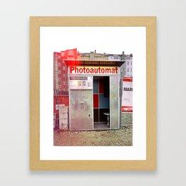 Photoautomat in Berlin Framed Art Print